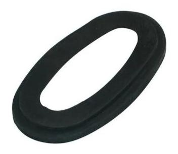 Lambretta Air Filter Elbow to Air Box Rubber Gasket Black