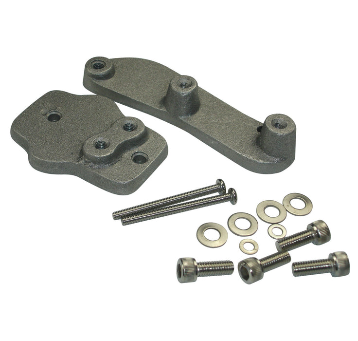 Lambretta - Electronic Coil And Reg Box Fitting Kit Alloy
