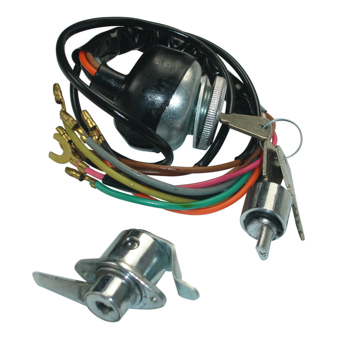 Lambretta - Ignition Switch Set - GP - TV Ign./ToolBox/Steering