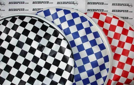 "10"" Wheel Spare Wheel Cover Chequered Printed"