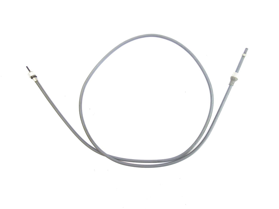 Lambretta Extra Long Speedo Cable Complete - Grey - Italian Fitment