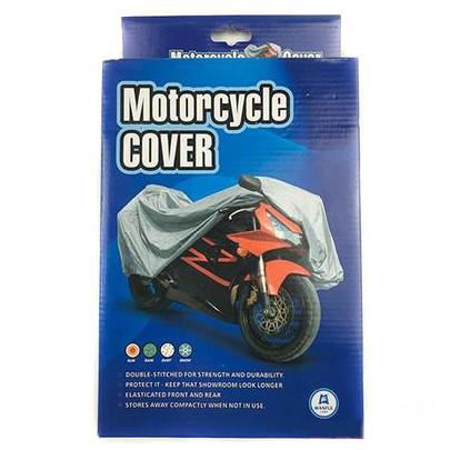 Scooter & Motorcycle Cover Fits Up to 1200cc with Screen Large