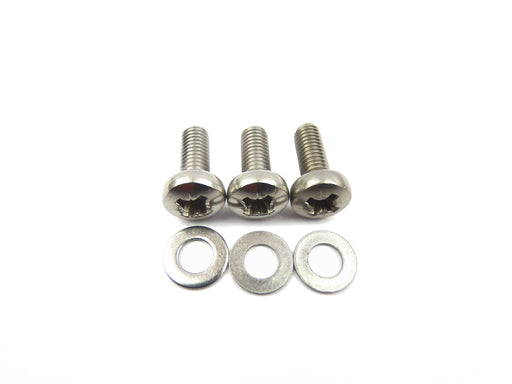 Vespa Stator Plate Fixing Kit Screws & Washers in Stainless