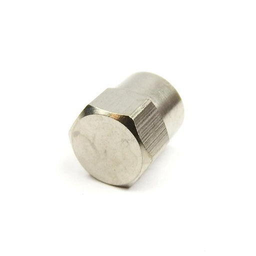 Metal Valve Cap Nickel Plated Pair