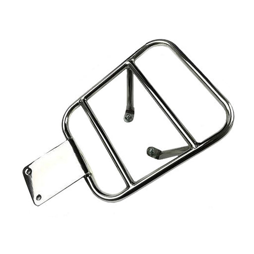 Lambretta - Carrier - Rear Flat Rack - Polished Stainless Steel -Series 3