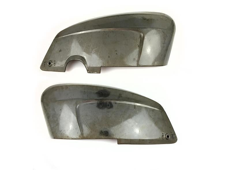 Lambretta - Side Panels - LiS/SX/TV - Bare Metal - With Handle Holes - Pair