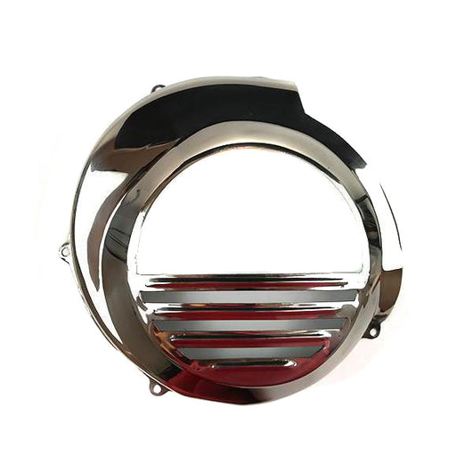 Vespa PX Electric Start (Pre 2011) Flywheel Cowling Polished Stainless Steel