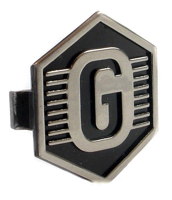 "Horncover Badge Hexagon Shaped Clip In LML ""G"""