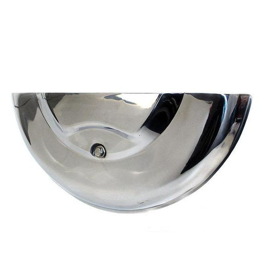Wheel - Spare Wheel Cover - Polished Stainless - GS Style For PX