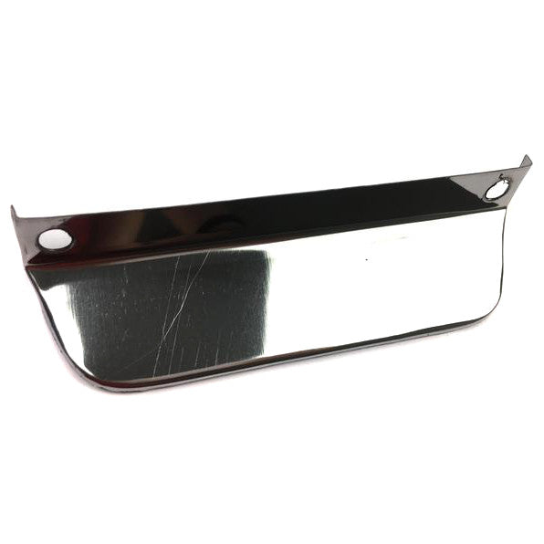 Number Plate - Surround Bottom Light Reflector - Stainless Steel
