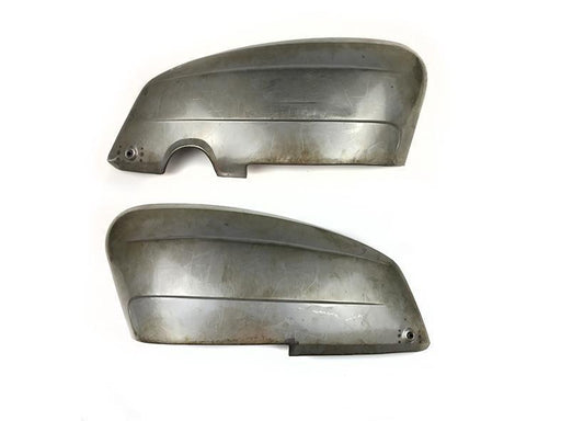 Lambretta - Side Panels - Li Series 3 - With Handle Holes - Pair - Bare Metal