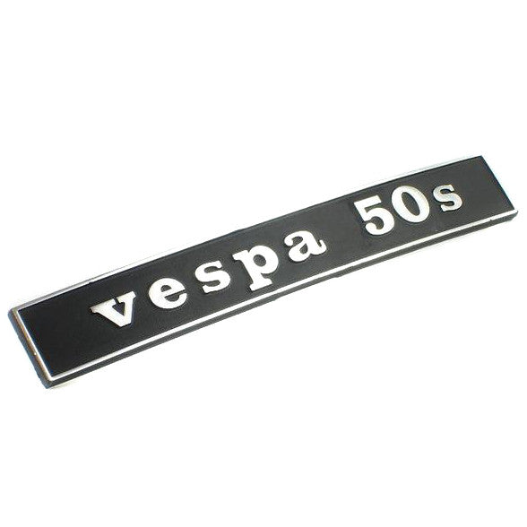 Vespa - Badge - Rear Frame - vespa 50s