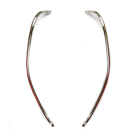 Lambretta - Leg Shield Beading - Stainless Steel - Series 2