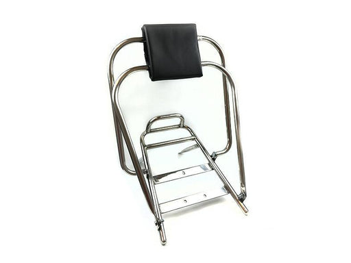 Vespa PX, PE, T5 Classic LML Flip Over Flip Flop Backrest - Stainless Steel