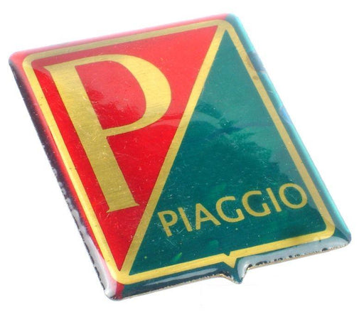 Badge - Horncover - Piaggio Shield - Red/Green/Gold