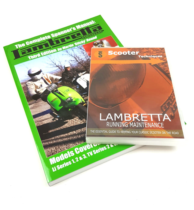 Lambretta Scooter Manual and Maintenance DVD Bundle