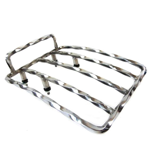 Lambretta Series 1 2 Twisted Stainless Steel Rear Sprint Rack
