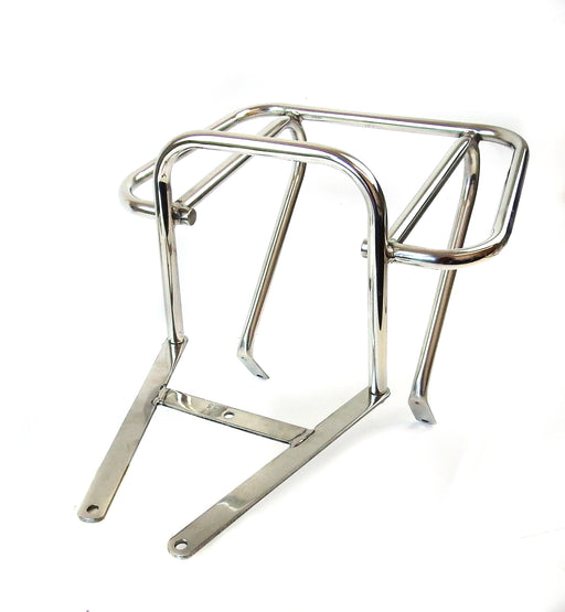 Vespa - Carrier - Rear Top Box Flat - PX/PE/T5Clas. - Stainless
