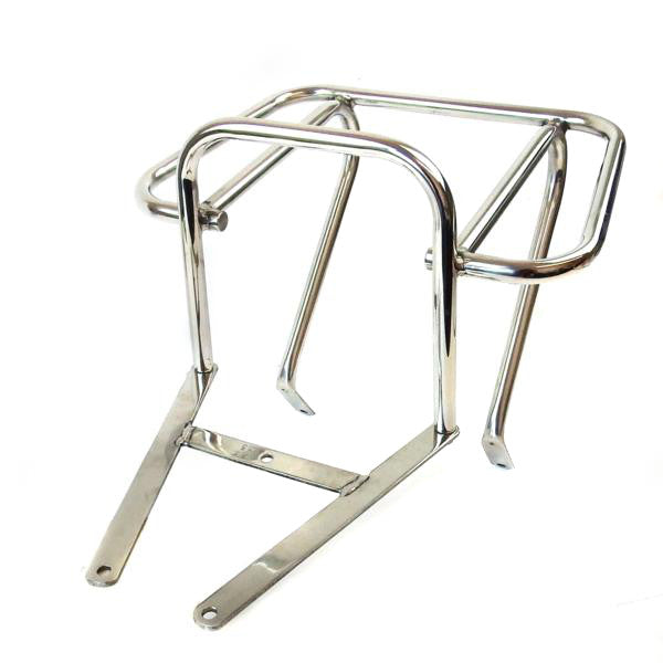 Vespa - Carrier - Rear Top Box Flat - T5 Mark 1 - Stainless