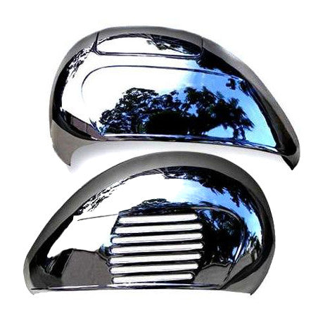 Vespa PX PE T5 LML VBB Style Side Panel - Pair - Chrome
