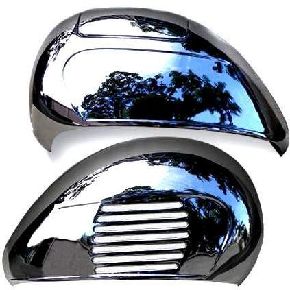 Vespa - Side Panel - Sportique, VBA, VBB, Baja - Pair - Chrome