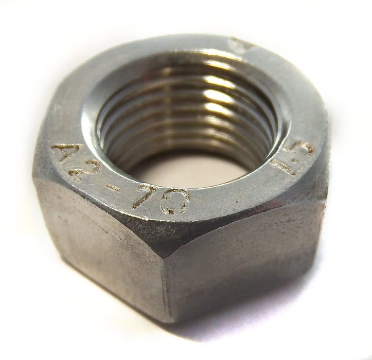 Fastener - Nut -  M10 x 1mm Pitch