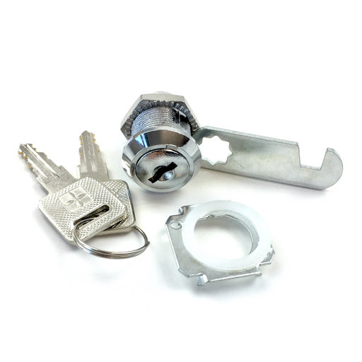 Lambretta - Inside Leg Shield Tool Box Rally Style - Lock Kit