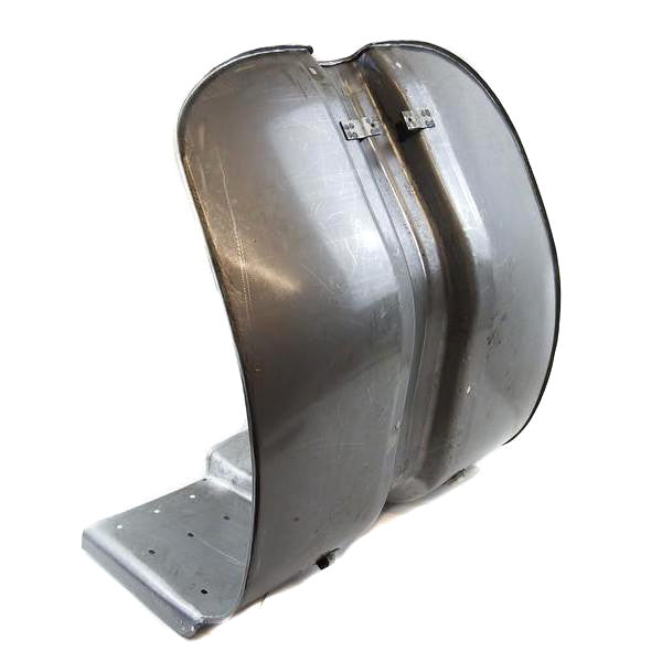 Lambretta - Leg Shield - Series 2 - Bare Metal