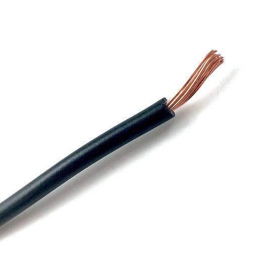 Automotive Wiring/Wire Cable - Black - Per Meter
