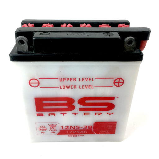 Battery - 12 V - 12N5-3B - Includes Acid Pack