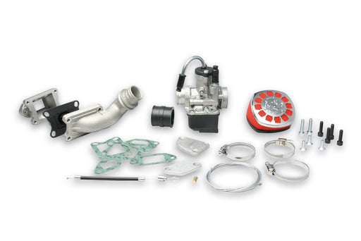 Vespa Malossi Carburettor & Reed Valve Kit  For 135cc MK1 Kit