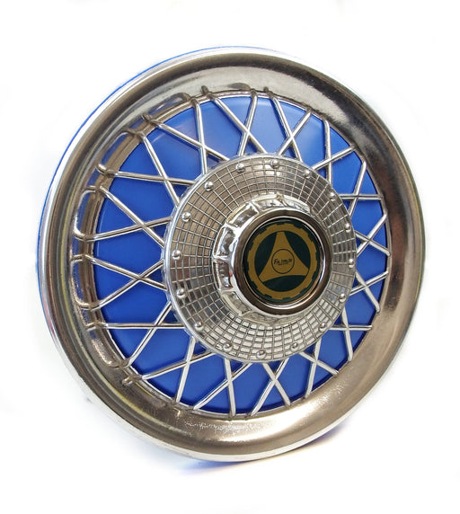 Wheel Disc Spoked Blue PX, T5, PK