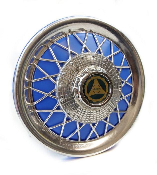 "Vespa PX, T5, PK 10"" Wheel Disc Spoked Blue"