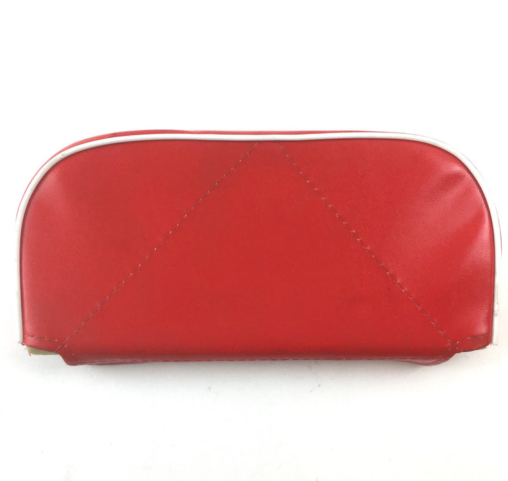 Backrest - Replacement Pad For Cuppini Carriers - Red White Piping
