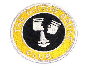 Piston Broke Club Patch