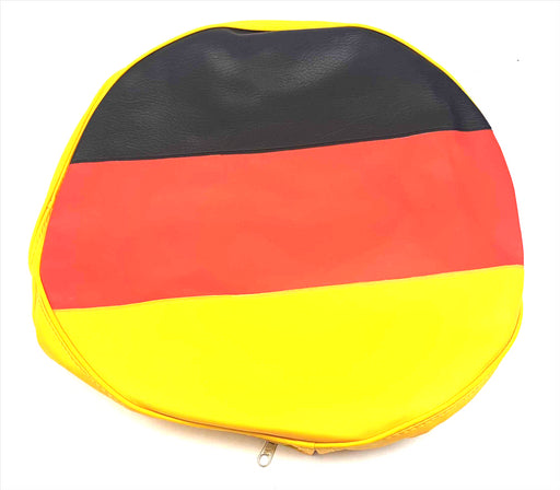 "Vespa Lambretta Scooter German Flag 10"" Spare Wheel Cover"