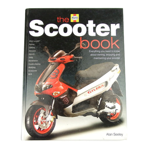 Manual - Haynes - The Scooter Book for Automatic Scooters