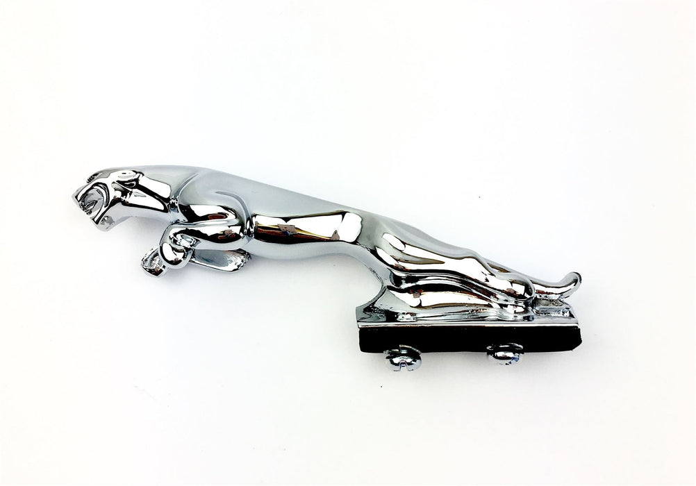Small Metal Chrome Jaguar