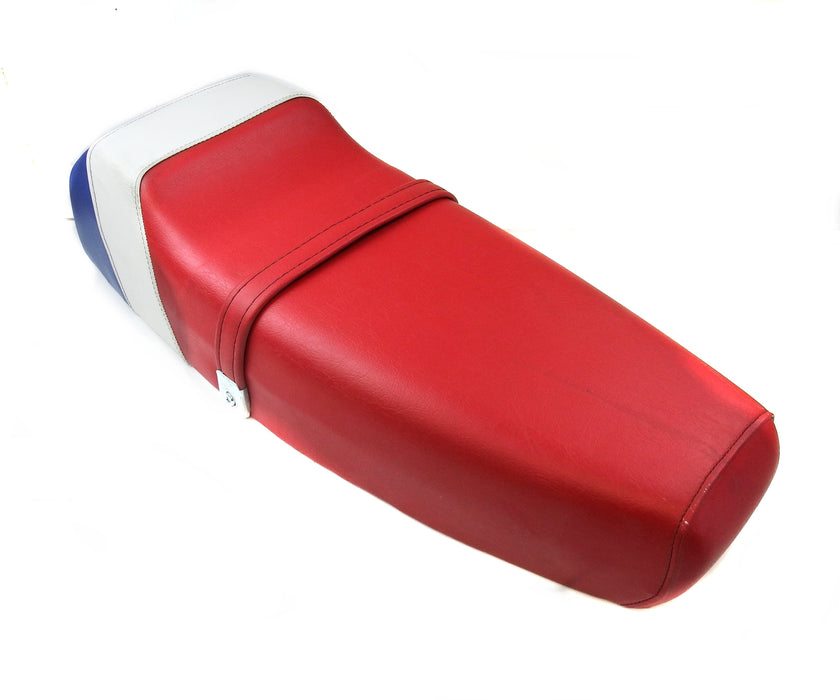 Vespa Corsa Seat in Red, White, & Blue