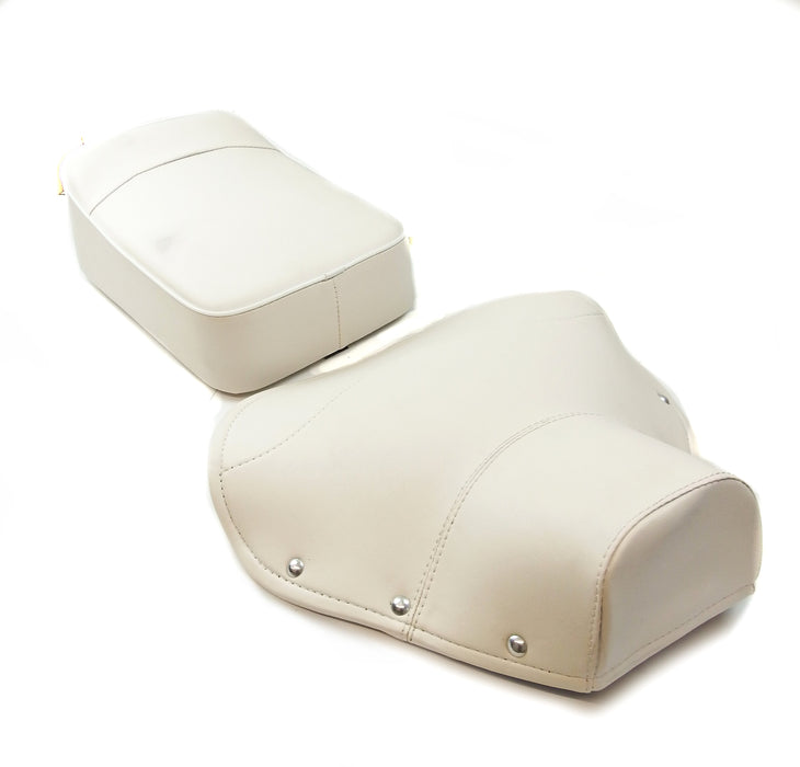 Vespa - Seat Cover And Pad - Single - Set - VBB/VLB - White