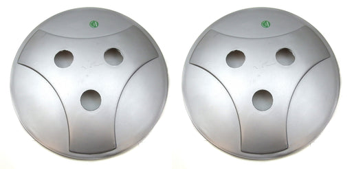 Vespa Wheel Disc Pair Silver Indian