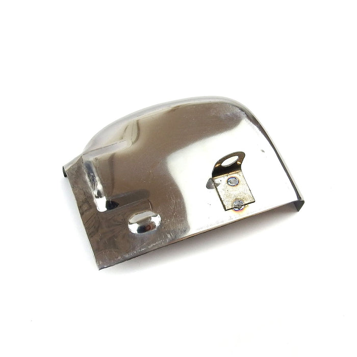 Vespa - Gear Selector Box Cover - Super, Sprint - Stainless