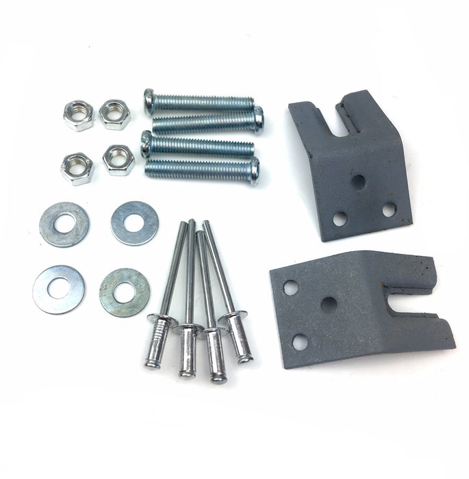 Lambretta Series 1 2 3 Li GP SX TV Inside Leg Shield Tool Box Fixing Kit