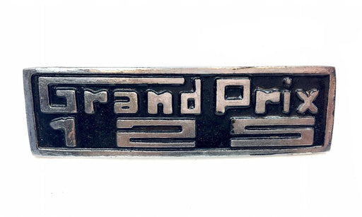 Lambretta Leg Shield Badge Grand Prix Metal 125