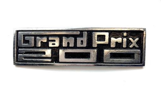 Lambretta GP Grand Prix 200 Leg Shield Badge
