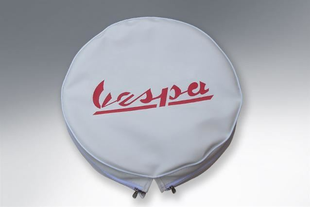 Wheel - Spare Wheel Cover 10 - Vespa Big Logo - Made to Order