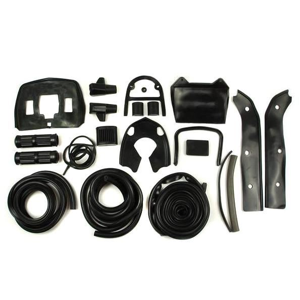 Lambretta - Rubber Kit - SX/TV/Li/GP Special - Black