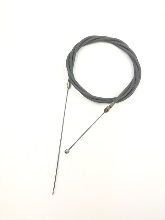 Lambretta Extra Long Speedo Cable Complete - Black - Indian Fitment