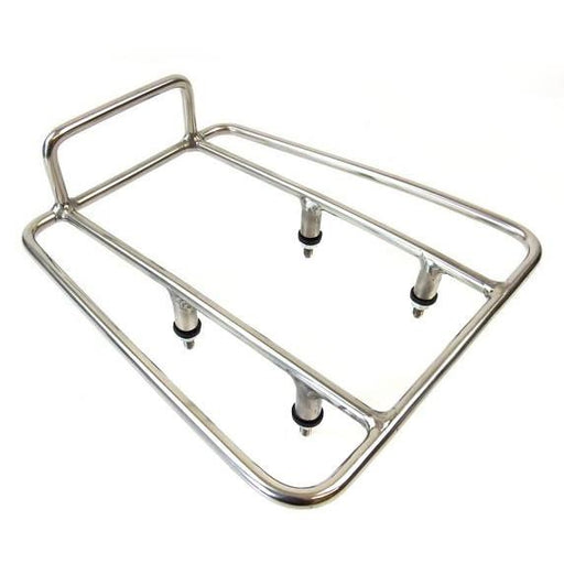 Lambretta Series 3 Li SX TV Rear Sprint Rack - Polished Stainless Steel