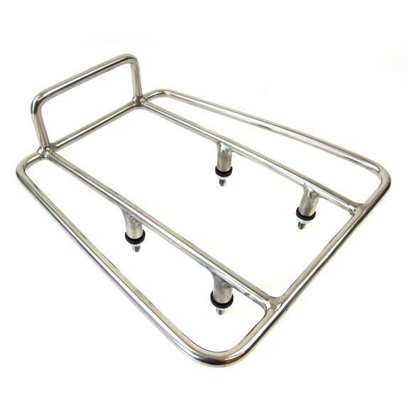 Lambretta - Carrier - Rear Sprint Rack - Polished Stainless